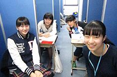 教室は私たちの勉強部屋!