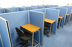 教室が広く使いやすくなりました!