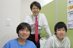 児玉君(左)